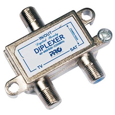 Diplexer VHF/UHF/Satélite, Proeletronic, PQDI-6500, Prata