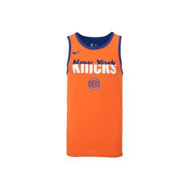 1ab544757 Camiseta Regata Nike NBA New York Knicks Dry Logo - Masculina - LARANJA  ESCURO Nike