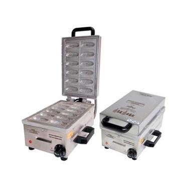 Máquina de Mini Crepe no Palito 12 Cavidades Ademaq  220v