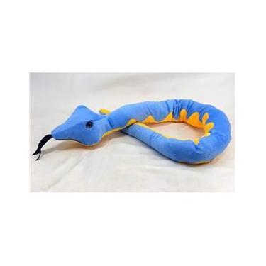Imagem de Cobra De Pelúcia 1,20 M Azul