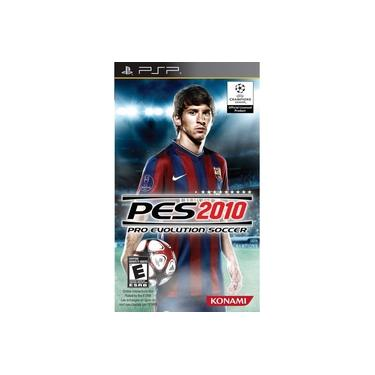 Jogo PSP Pes 2010 Pro Evolution Soccer 2010
