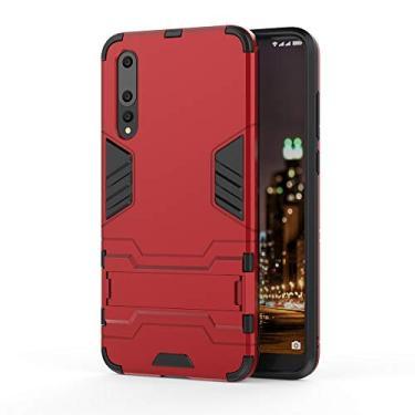 Capa protetora traseira rígida para Huawei P20 Pro Slim Layer (Vermelho)