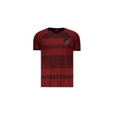 ec989ee0ab Camisas de Times de Futebol Casuais Flamengo Braziline