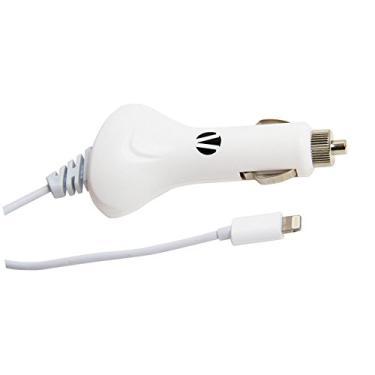 b0f5037ad Carregador veicular com conector lightning Branco para iPod, iPhone e iPad  - VIVITAR