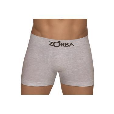 Imagem de Kit Com 2 Cuecas Boxer Algodão Zorba-  Branca, Cinza 781