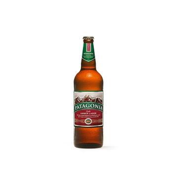 Cerveja Patagonia Amber Lager Garrafa One Way 740ml Cx. C/04 Unidades
