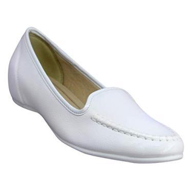 Mocassim Azaléia Conforto - Branco