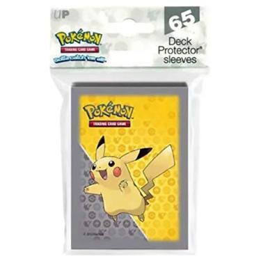 Imagem de Deck Protector Ultra Pro Pokemon 65 Sleeves Pikachu