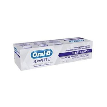 Pasta de Dente Oral-B 3D White Perfection - 75ml