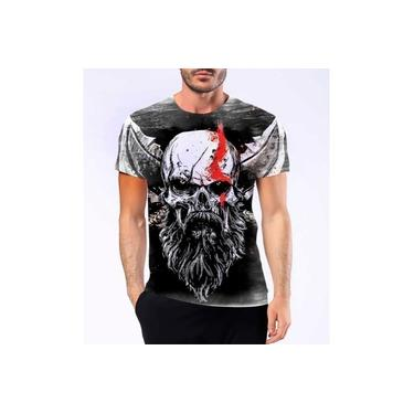 Camiseta Camisa Personalizad God Of War Kratos Jogo Ps4 Hd 2
