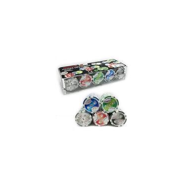 Imagem de Fichas para Jogo de Poker Profissional (100 Fichas) TEXAS HOLD'EM F3