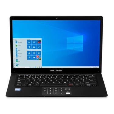 Imagem de Notebook Multilaser Legacy Book Intel 14 Hd 4gb Ram Win10