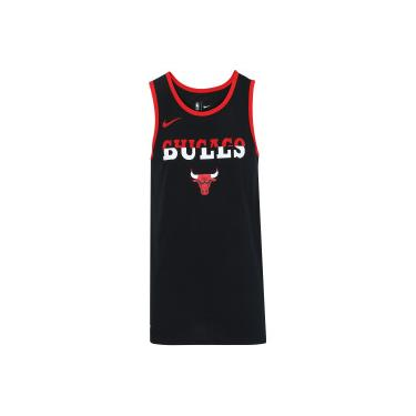 Camiseta Regata Nike Chicago Bulls Logo - Masculina - PRETO Nike e94ca853766