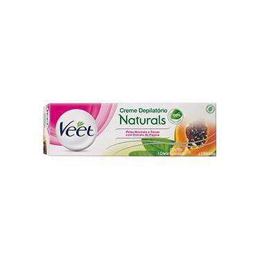 Creme Depilatório Veet Naturals com Extrato de Papaia 100ml