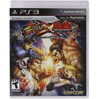 Street Fighter X Tekken Ps3 Mídia Física Lacrado