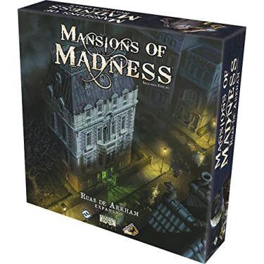 Ruas De Arkham: Expansão - Mansions Of Madness