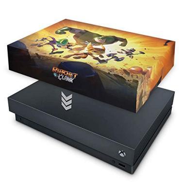 Capa Anti Poeira para Xbox One X - Ratchet And Clank