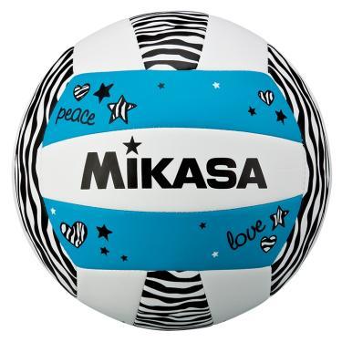 Bola de Volêi Mikasa VXS-ZB - Branco/Preto/Azul