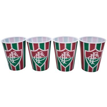 Jg. Com 4 Copos 3D 400ml - Fluminense 3cacf1986229b