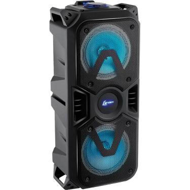 Caixa de Som Amplificada Lenoxx CA400, 200W, Bluetooth, USB, Rádio FM - Bivolt