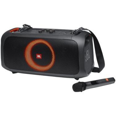 Caixa de Som JBL Party Box On The Go Bluetooth - Portátil Amplificada