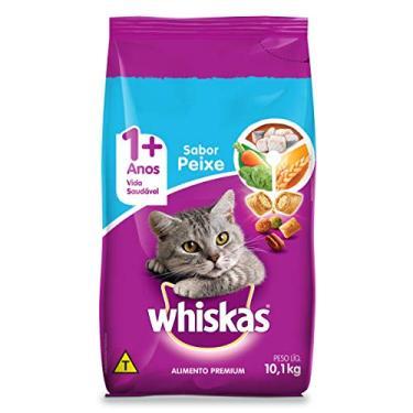 Ração Whiskas Peixe Para Gatos Adultos 10,1 kg