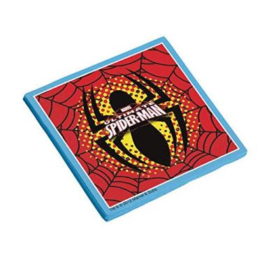 Guard. F. Dupla 25x25cm R 72 Ultimate Spider Man - Pacote Com 16 Un Regina Colorido
