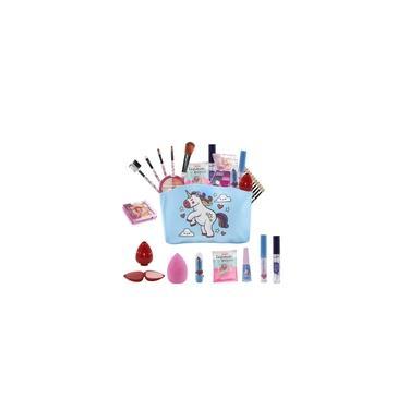 Imagem de Kit Infantil de maquiagens e itens de beleza para Maleta BZ81