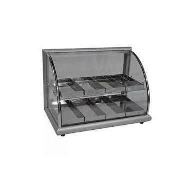 Estufa para Salgados 8 bandejas dupla Aluminio