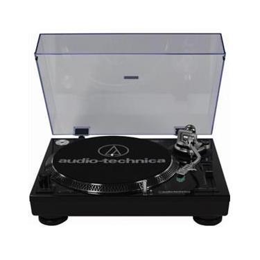 Toca discos Audio-Technica AT-LP120-USB Direct-drive (analógico e USB) - Preto