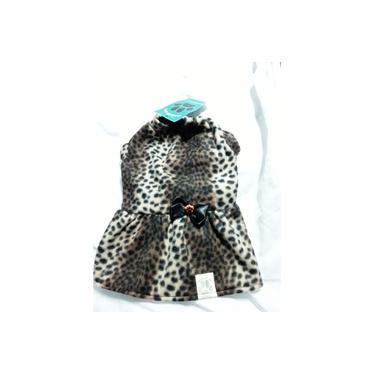 Vestido Pet Basico Soft , Rosa Ursinhos , Tam . P, Brazilian Vip's