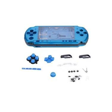 Full Housing Game Console Shell Case Cover Repair Parts Replacement for PSP 3000