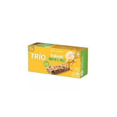Trio Barra Cereal Original Banana Aveia E Mel C/3
