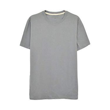 Camiseta Aveloz Básica Cinza-G