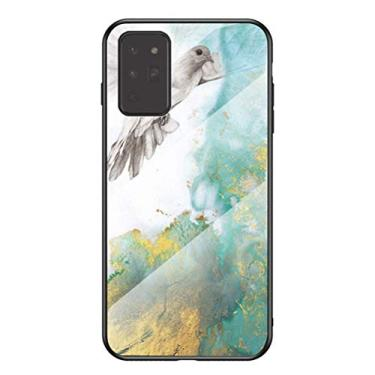 MOONCASE Capa para Galaxy Note 20, capa de vitral moderna de TPU (poliuretano termoplástico) ultra fina e macia à prova de choque, resistente a arranhões e impressões digitais para Samsung Galaxy Note 20 de 6,5 polegadas (Pigeon)