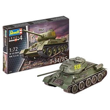 Imagem de Tanque soviético T-34/85-1/72 - Revell 03302