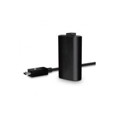 Bateria Controle Xbox One Cabo Carregador Play & Charge Kit