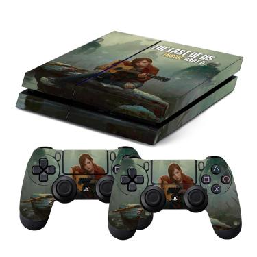 Skin PS4 Fat The Last Of Us Parte 2