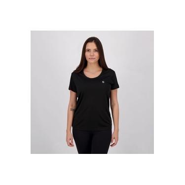 Camiseta Olympikus Essential Feminina Preta