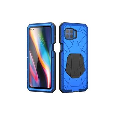Capa Blindada X-Force Motorola Moto G 5G Plus – Azul