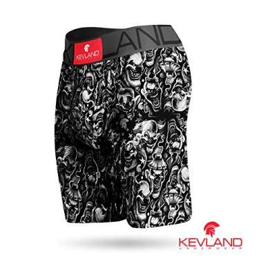 Imagem de Cueca Boxer Long Leg Kevland Clown Tamanho:GG;Cor:Preto