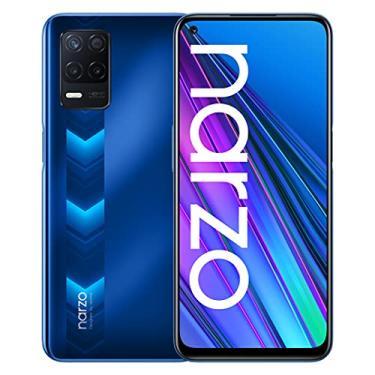 """Imagem de realme Narzo 30 5G Smartphone 6.5"""", 90Hz Ultra Display, 5000mAh, 18W Quick Charge, Dimensity 700 5G, Câmera 48MP com Nightscape Mode, Dual SIM, 4GB + 128GB (Blu)"""