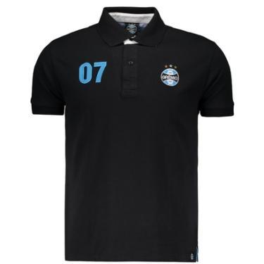 Camisa Polo Grêmio Bandeiras Masculina - Masculino c5386b2029313