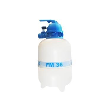 Filtro Para Piscina Fm-36 P/ Até 40 Mil Litros Água Sodramar Sem Areia