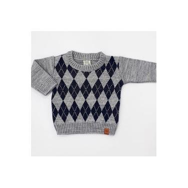 Casaco Infantil Tricot Masculino Pingo Lelê P Ao 4
