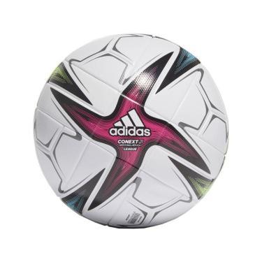 Imagem de Bolas Adidas Conext 21 League Campo GK3489, Cor: Branco/Rosa, Tamanho: 5