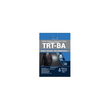 Imagem de Apostila TRT BA 2020 Técnico Judiciário Área Administrativa