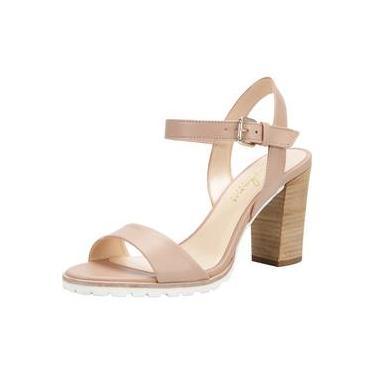 Sandália Salto Tratorado Stephanie Classic Toscana