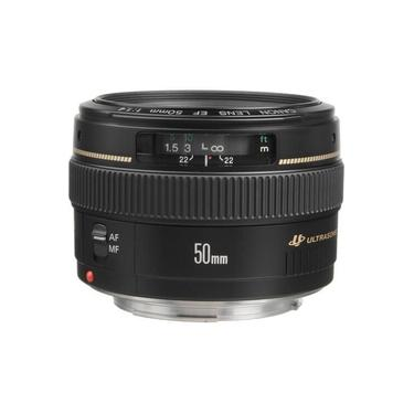 Lente Canon EF 50mm f/1.4 USM Ultrasonic