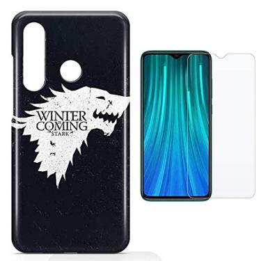 Kit Capa Xiaomi Redmi Note 8 Game of Thrones e Película